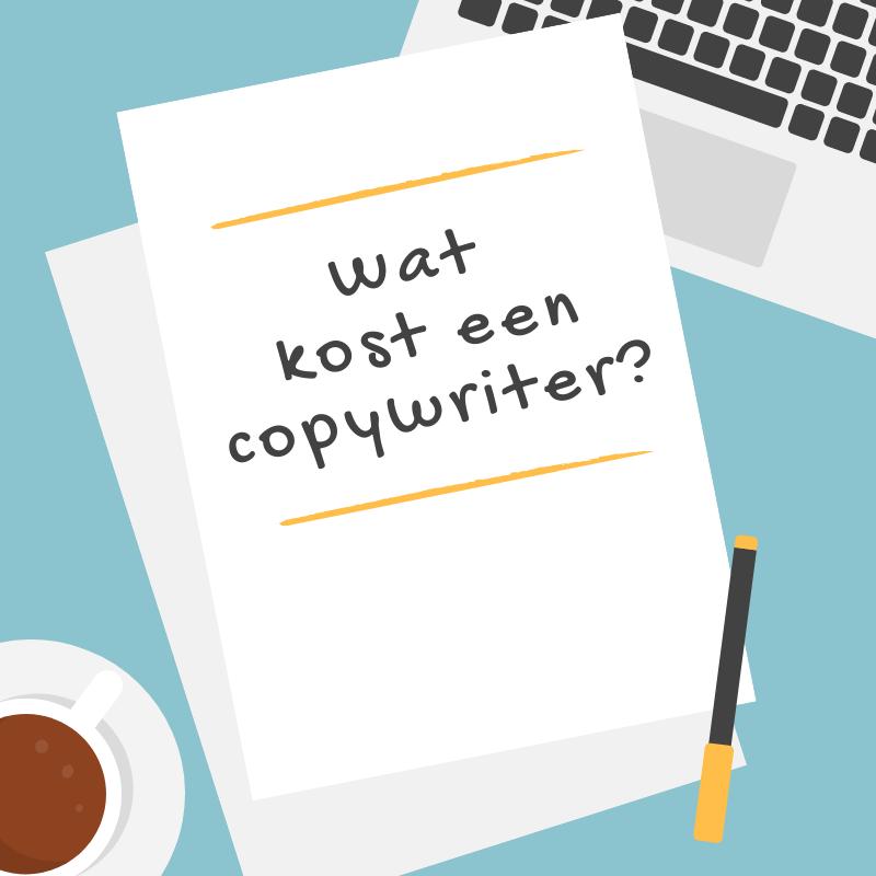 Wat kost een copywriter